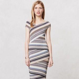 Anthropologie Bailey 44 French Stripe Column Dress